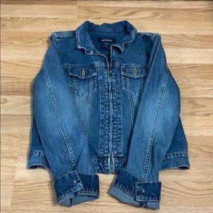 Jean zipper jacket